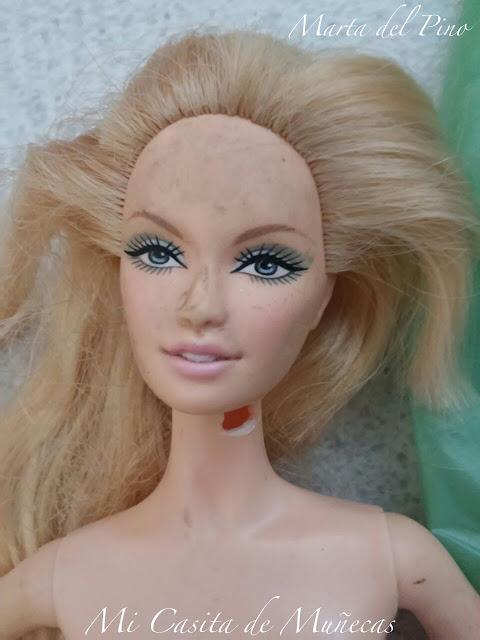 Barbie 2007 Robert Best, new year, año nuevo, sculpt face barbie lara, molde lara, mi casita de muñecas, Marta del Pino