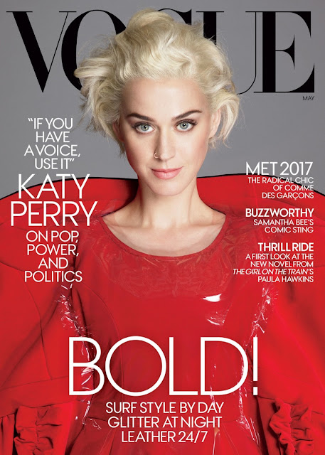 Katy Perry for Vogue May 2017 cover - Comme des Garcons by Mert and Marcus