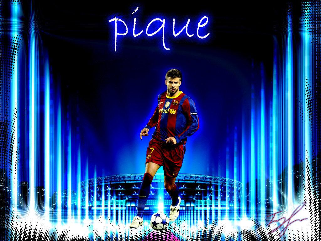 All Sports Superstars: Gerard Pique HD Wallpapers 2012
