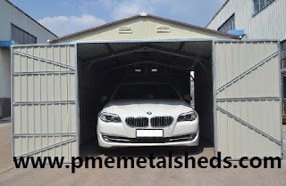 PME Metal Garage & PME Sheds u0026 Outdoor Storage - Metal Sheds and More / pmemetalsheds ...