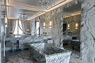 Мраморная мебель от Карла Лагерфельда