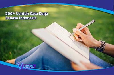 200+ Contoh Kata Kerja (Verba) Dalam Bahasa Indonesia Lengkap