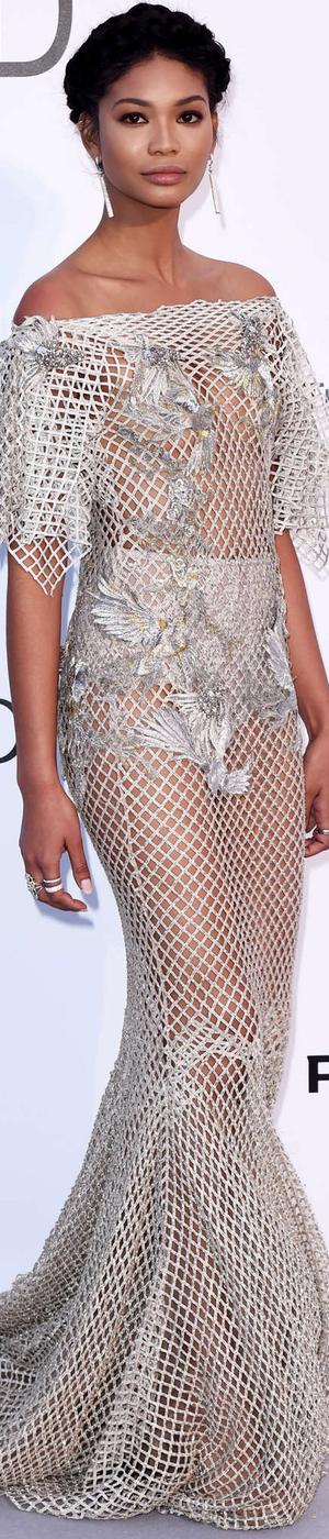 Chanel Iman 2016 amfAR Gala Cannes