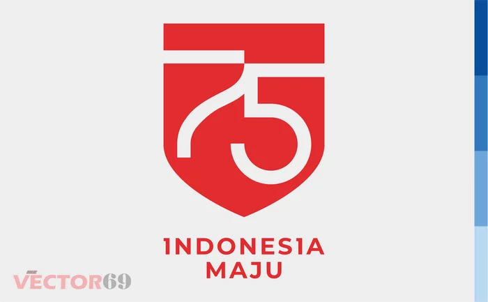 Logo Resmi HUT RI ke-75 Tahun 2020 - Download Vector File EPS (Encapsulated PostScript)