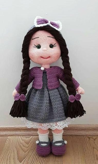 receitas de bonecas amigurumi, receitas de bonecas de crochê, receitas de bonecas amigurumis em portugues