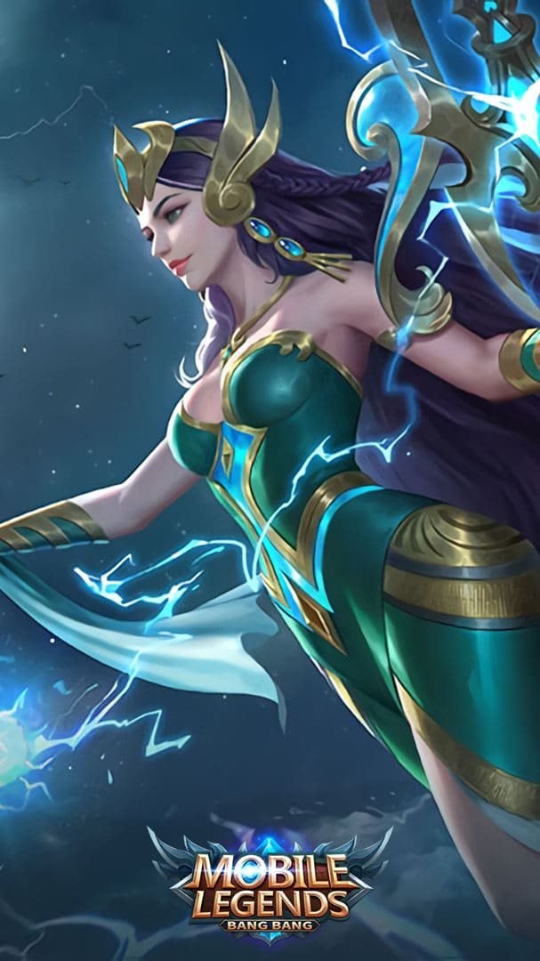 Wallpaper Kadita Ocean Goddess Skin Mobile Legends HD for Android and iOS