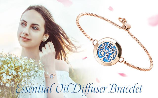 Aromatherapy Essential Oil Diffuser Bracelet