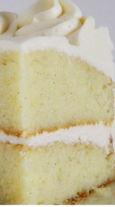 Best Vanilla Cake Recipe