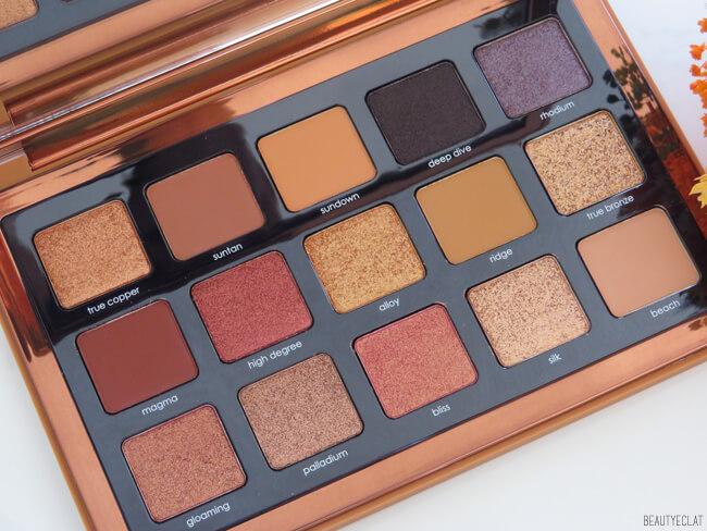 natasha denona bronze palette qualité fards