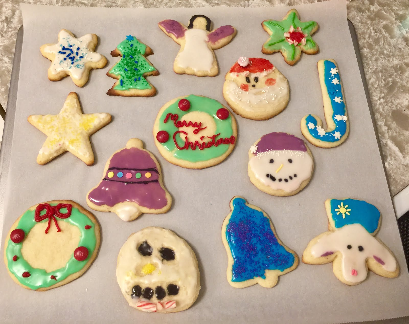 Decorated Christmas Cookies Recipes