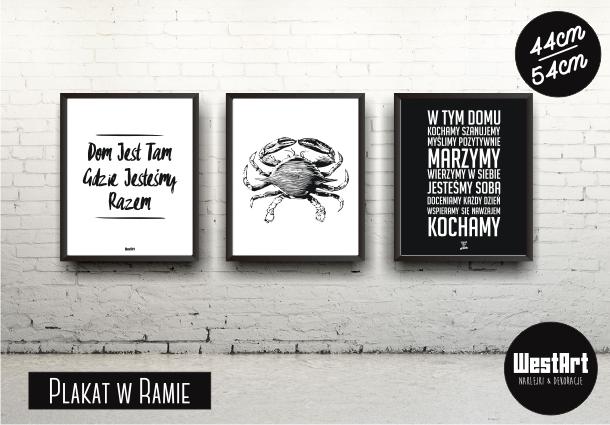 West Art Naklejki Dekoracyjne Plakaty W Ramach