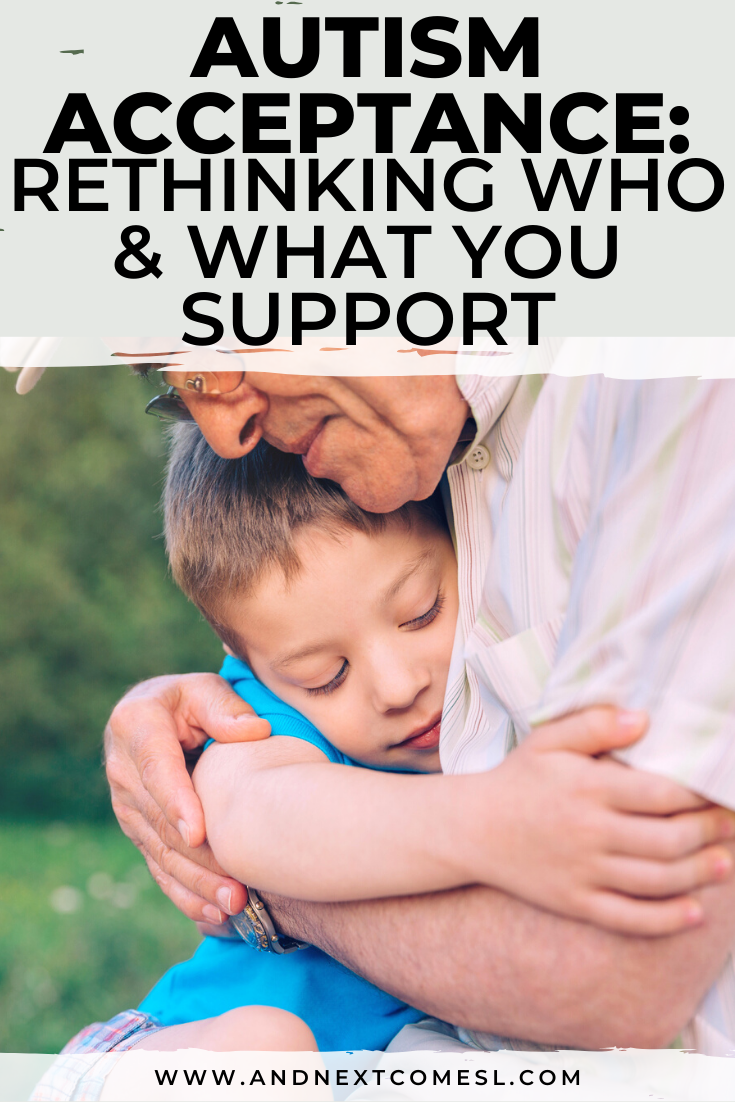 Why you need to be mindful of who and what you support during autism acceptance month
