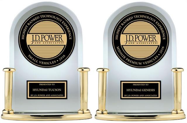 Larry H. Miller Hyundai Spokane | TUCSON AND GENESIS TOP RESPECTIVE SEGMENTS IN J.D. POWER TECH-EXPERIENCE STUDY