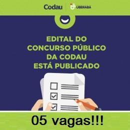 Uberaba: CODAU lança edital para 10 vagas!!!