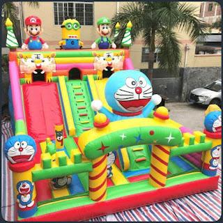 jual rumah balon | istana balon untuk seluruh indonesia