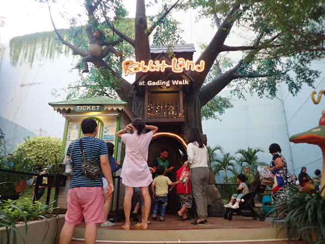 rabbit land mall kelapa gading