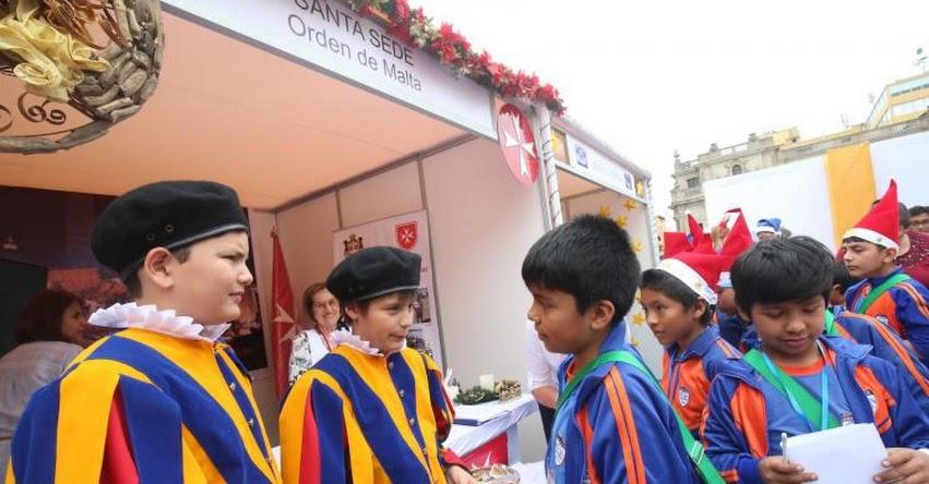 Cerca de 3 mil niños conocerán feria «Mundo de ilusiones», en el Patio de Honor de Palacio de Gobierno