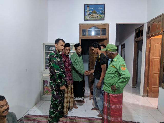 Cegah Adu Jotos  Warga, Babinsa Juwiring Damaikan Pertikaian
