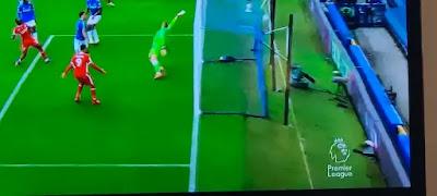 (تقنية الفار) تحرم ليفربول من فوز هام في دربي المرسيسايد