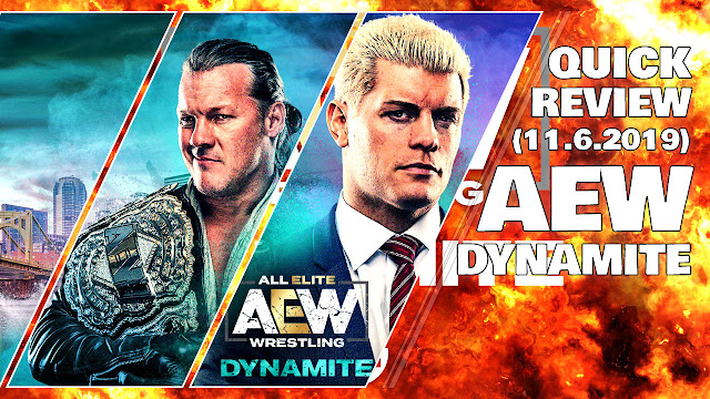 AEW Dynamite • 11/6/2019 • Quick Review • Cody Best Promo in 2019