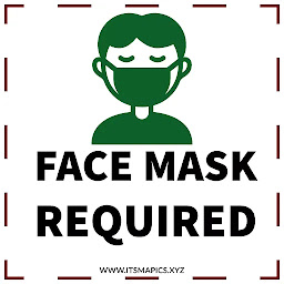 Free printable face mask required signs
