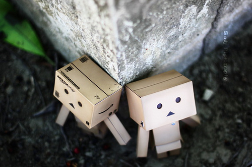 150 Lebih Foto Danbo Si Boneka Kardus Mini
