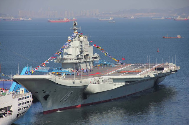 The Liaoning aircraft carrier