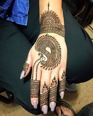 latest bridal mehndi designs 2017 for hands for full hands (14)