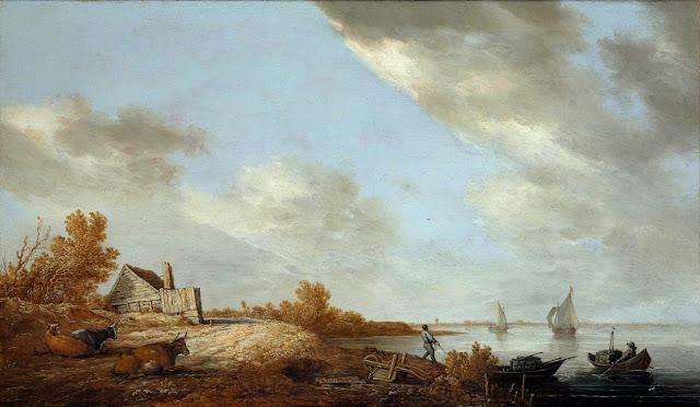 Альберт Кёйп - Речной берег. 1640-45