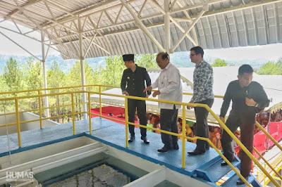 Bupati Trenggalek Resmikan Operasional Instalasi Pengolahan Air (IPA) dari Ditjen Cipta Karya