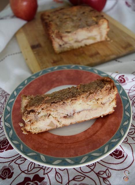 Pastel de manzana y canela lowcarb