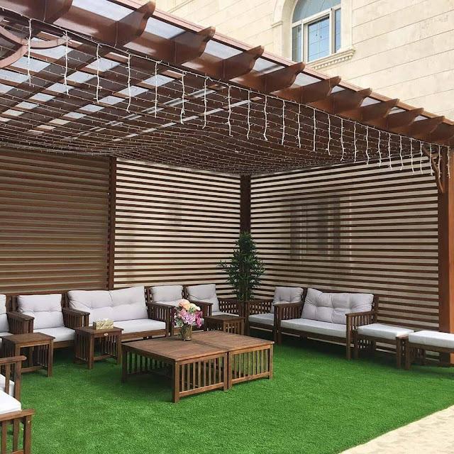 شركة تصميم جلسات حدائق سلطنة عمان