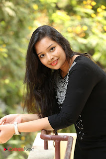 Abhinaya Pictures in Salwar Kameez at Tholi Kiranam Press Meet