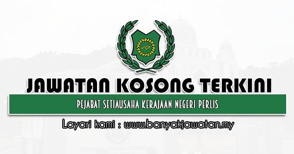 Jawatan Kosong 2021 di Pejabat Setiausaha Kerajaan Negeri Perlis