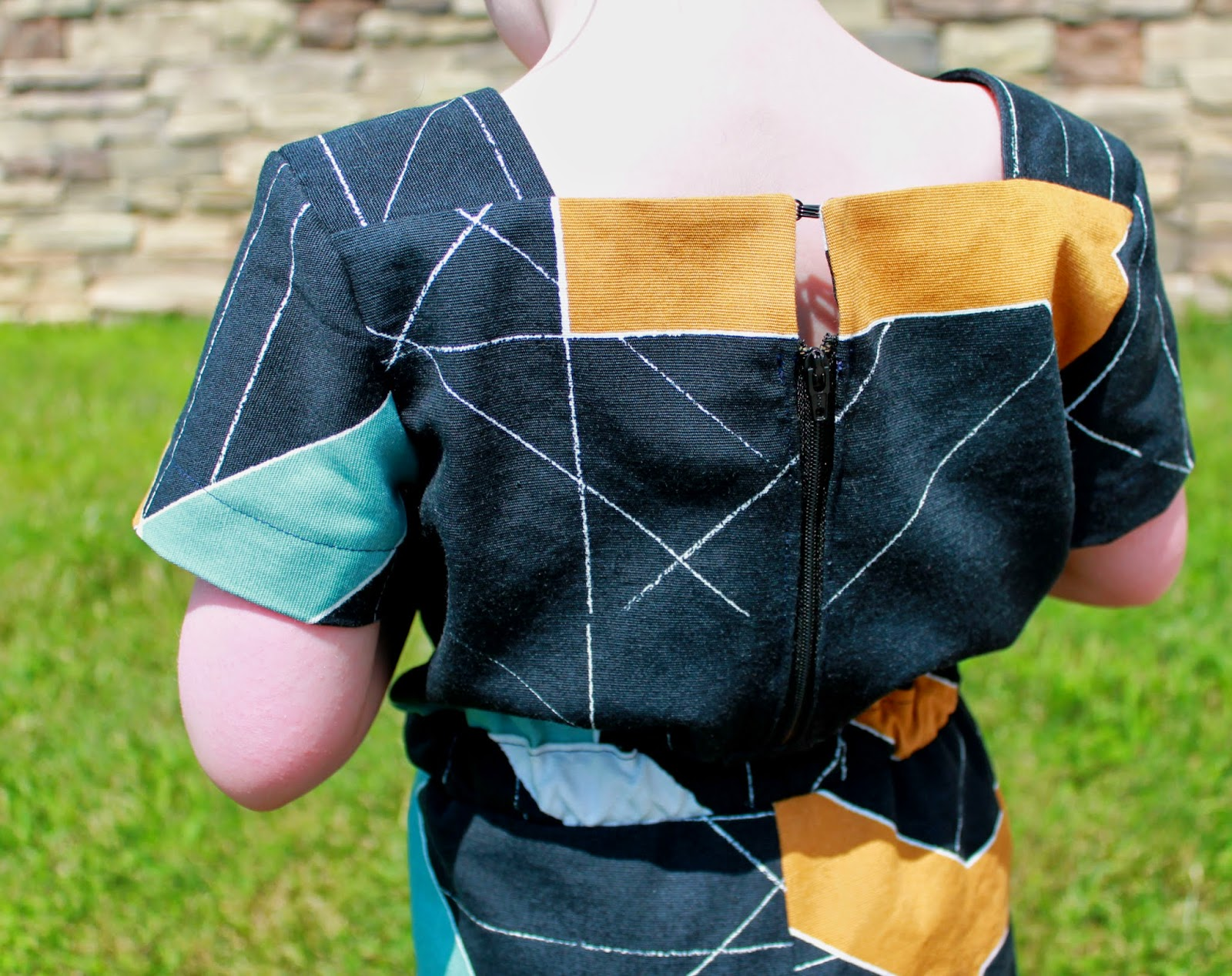 Oliver + S Croquet Dress + Puppet Show Shorts = Mash-Up Romper | The Inspired Wren