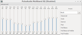 pulse audio multiband equalizer on lubuntu