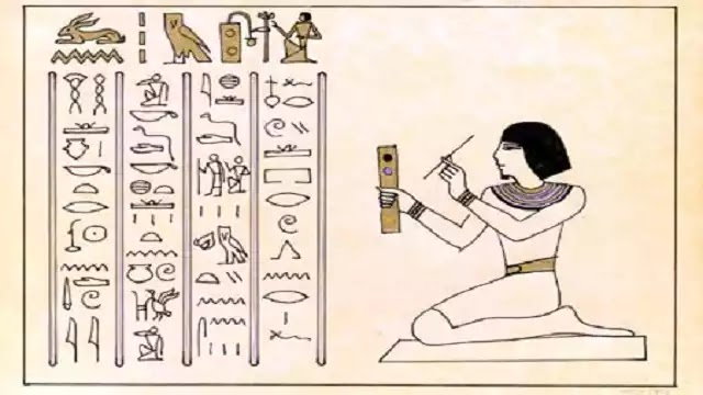 Ancient Egyptian Writing Hieroglyphic ,Hieratic and Demotic
