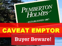 Pemberton Holmes and the Contract Law Principle - Caveat emptor
