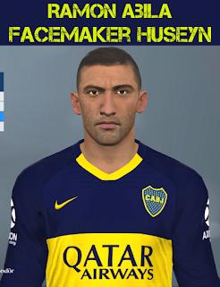 PES 2017 Faces Ramon Abila by Huseyn