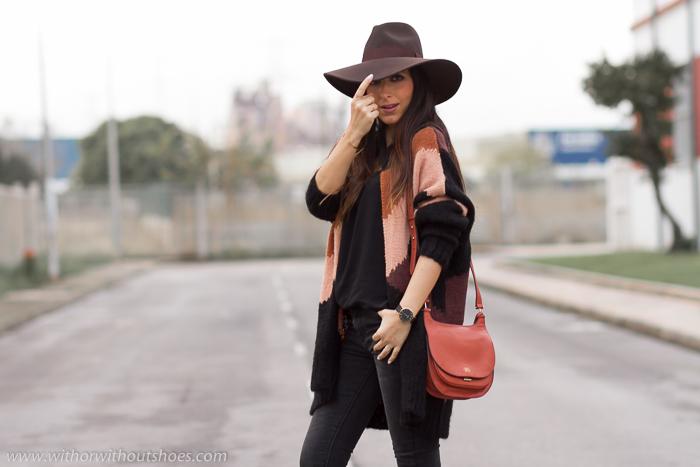 Influencer blogger instagramer de moda valenciana idea como combinar un sombrero