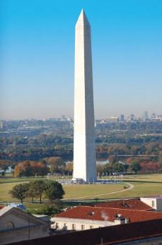 Bangunan Monumen Bersejarah Washington