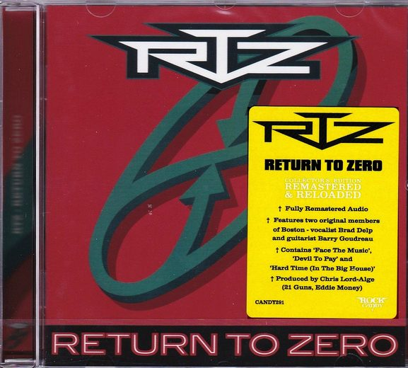 RTZ - Return To Zero [Rock Candy remastered] (2016) full