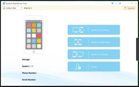 برنامج نقل الملفات بين الآيفون والحاسوب Easeus Mobimover