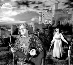 Leyendas del  Castillo de Loarre y la dama de blanco, Doña Violante