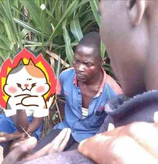 Man Caught Having s*x With A Primary School Student In The Bush (Photo)