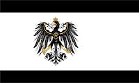 Bandera Reino de Prusia