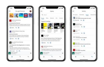 Google introduces the Podcast app on iOS