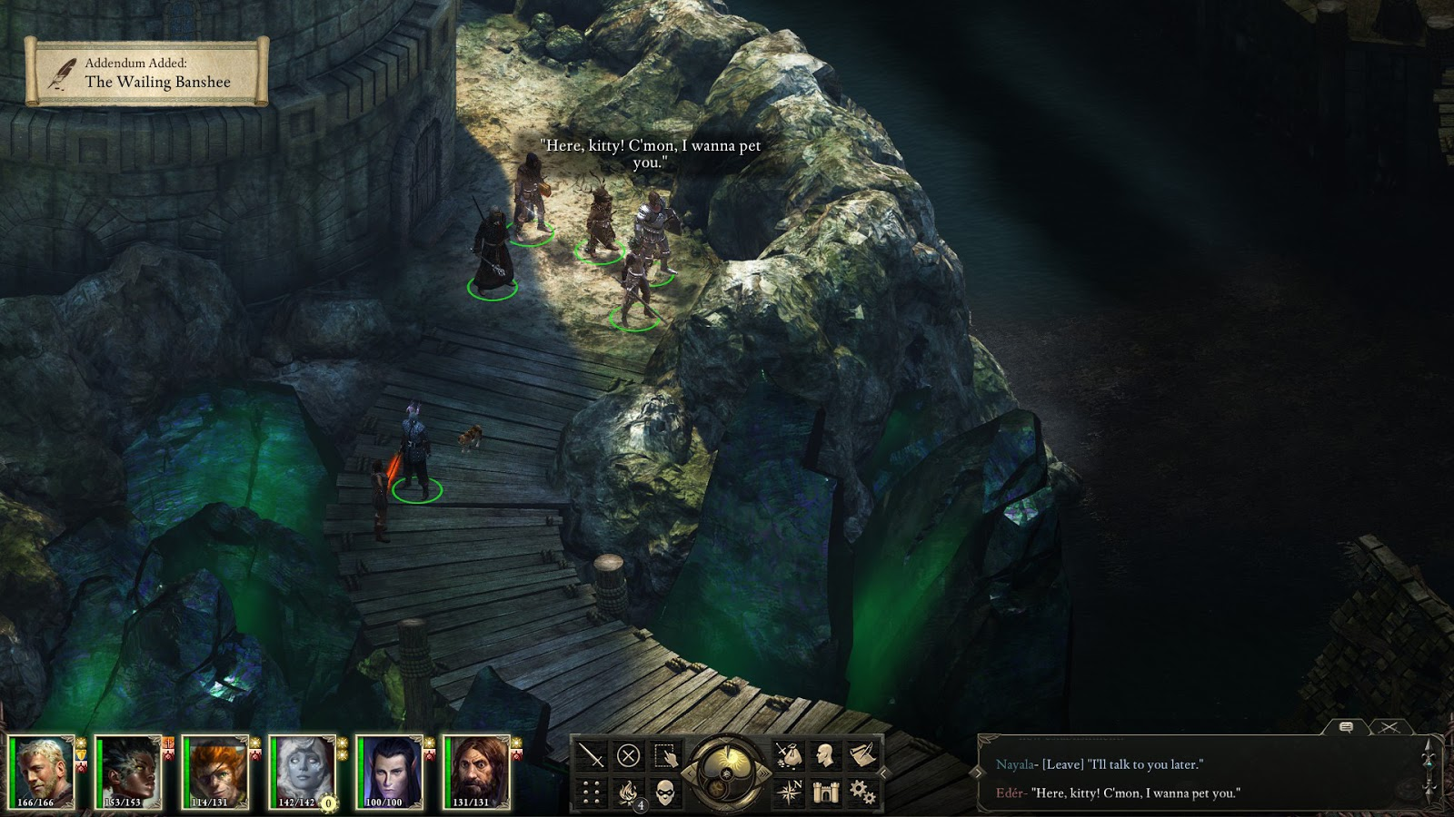 Pillars Of Eternity Background: The Nocturnal Rambler: Pillars Of Eternity Review