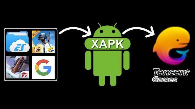تثبيت التطبيقات والألعاب بصيغة XAPK على محاكي تنسنت بعد ازالة علامة اضافة الملفات