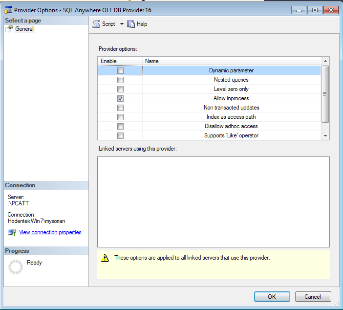 HodentekMSSS: Creating a linked server to SAP/Sybase SQL Anywhere 16